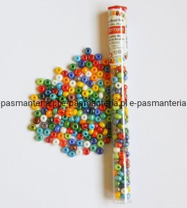 koraliki szklane 5,6mm mix kolorówGutermann 25g 787083